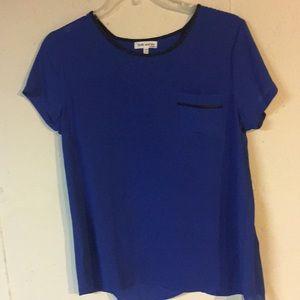 Beautiful blue light shirt